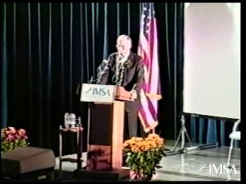 James A. Lovell Lecture at IMSA -