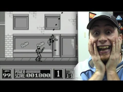 CGR Undertow - Observations and Frustrations with ROBOCOP for Game Boy