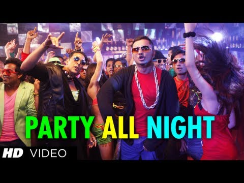 Party All Night Feat. Honey Singh Boss Latest Video Song | Akshay Kumar, Sonakshi Sinha