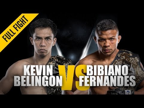 ONE: Full Fight   Kevin Belingon vs. Bibiano Fernandes   Undisputed Champion   November 2018