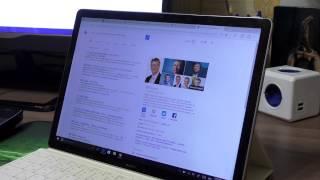 Голосовой помощник Cortana в Windows 10. Huawei MateBook