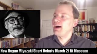 News: New MIYAZAKI! TANYA THE EVIL movie! SILENT VOICE in US theaters Feb 2! GODZILLA!