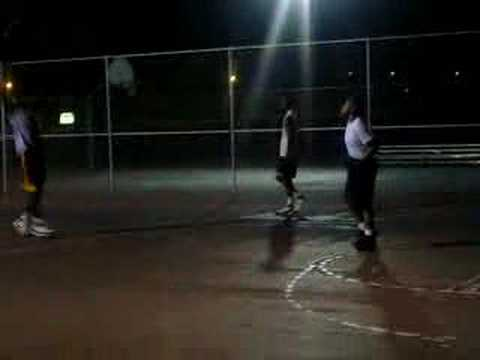 Neek, Tra, Red, Jamal Playing Basketball Video