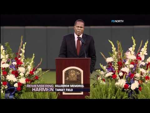 Rod Carew's speech ~ Harmon Killebrew Memorial (May 26, 2011)