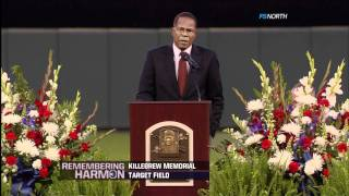 Rod Carew's speech ~ Harmon Killebrew Memorial (May 26, 2011)