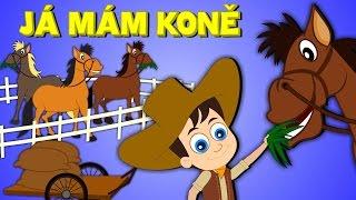 Písničky pro děti a nejmenší |  Já mám koně + 23 min.