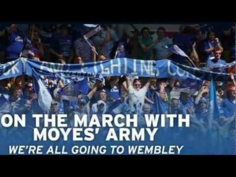 EVERTON SONG: On The March With Moyes' Army, 2012