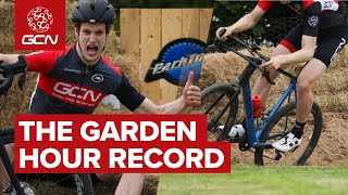 We Built A Velodrome! | GCN's Garden Hour Record