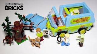 Lego Scooby-Doo 75902 The Mystery Machine Speed Build