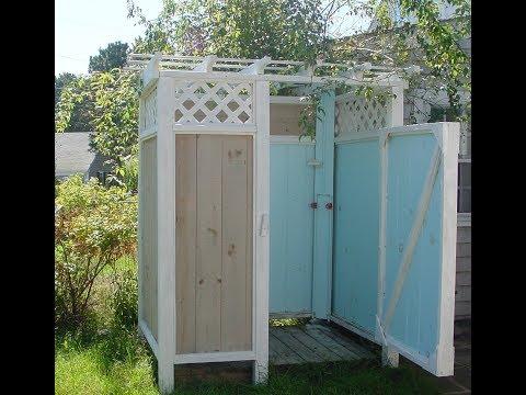 #2. Летний душ своими руками дешево из подручных материалов. Что получилось. Конечный результат