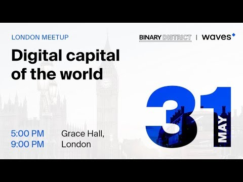 """Live from """"Digital Capital of the World"""" in London (31 May, 2018)"""