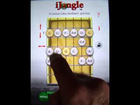 IJangle Guitar Scales: Pentatonic - Blues Scale - Modes