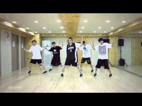 B1A4 'What's Happening?' mirrored Dance Practice [reup]
