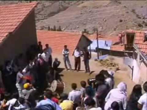 Malatya & Düz halay-semah-kürd oyunu& ^köy düğünü^