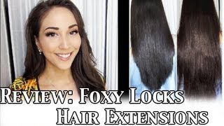 Foxy Locks Extensions Black 49