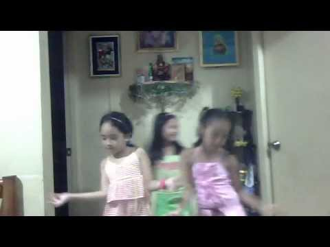3 young Filipino Girls Dancing Waka Waka by Shakira