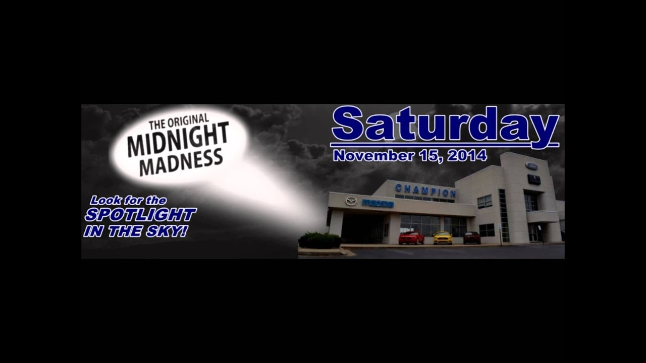 Champion Ford Owensboro Midnight Madness 2014 - YouTube