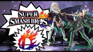 Super Smash Bros Wii U - How to Download - Corrin and Bayonetta
