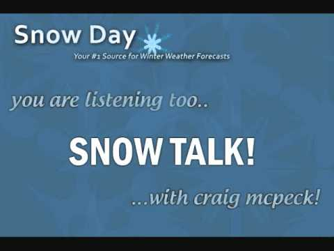 Snow Talk #3 - Snow-Day.org - Northern Plains/Ohio Valley Winter storm