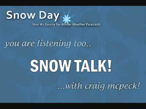 Snow Talk #3 - Snow-Day.org - Northern Plains/Ohio Valley Winter storm