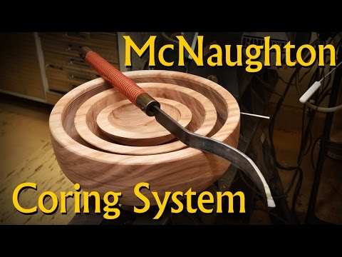 Coring Bowl Blanks with the McNaughton Center Saver System