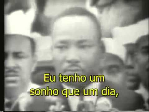 Martin Luther King jr (I have a dream) em 1963. (Legendado em Português)