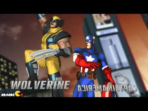 Marvel Avengers: Captain America and Wolverine VS Hulk