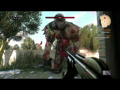Dying Light - The Following DLC -  Holler Fight With Thrown Weapons Only (Unlocks Heavy Venom)