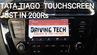 Tata tiago xz | touchscreen music system | just in 200 Rs
