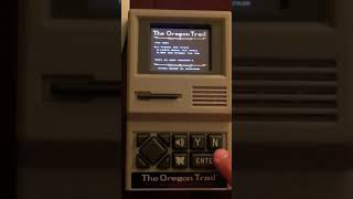 The Oregon Trail (Target Exclusive) Hand Held game complete play through