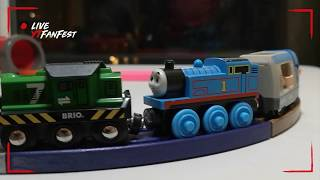 SMART TECH, Train Operator Track Changes Toys Brio Washing & REpair STATION, Trains Building  Wooden