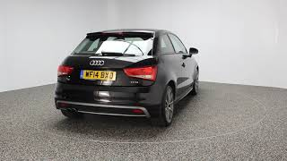 AUDI A1 1.4 TFSI S LINE STYLE EDITION 3DR 121 BHP