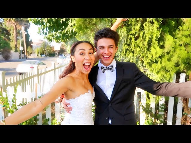 I GOT MARRIED TO MY BEST FRIEND FOR 24 HOURS (w/ MyLifeAsEva) | Brent Rivera thumbnail