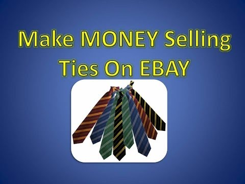 How To Make Money On Ebay Selling Ties : The Clothing Classroom ( Scanning Sold Listings)