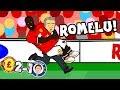 🎵ROMELU!🎵 Man Utd vs Chelsea 2-1 (Parody Goals Highlights 2018 Song)