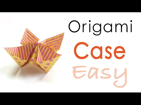 Origami Paper Easy Pockets Case - Origami Kawaii