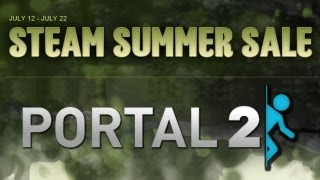 Steam Summer Sale - Portal 2 (Win A Copy)