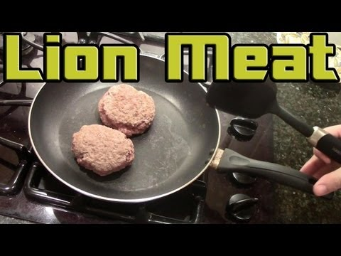 Dave's Exotic Foods - Lion Meat -- Extras