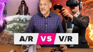 Augmented reality vs. virtual reality: AR and VR made clear