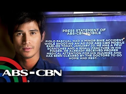 Piolo Pascual hurt in minor bike accident
