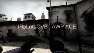 ACE AWP, Global Elite Rank, fRpLntLOVE