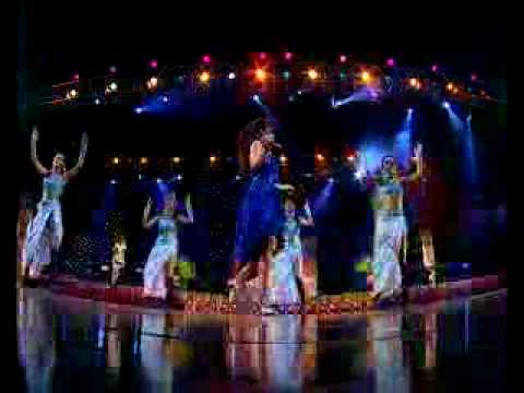 Tulsi kumar perfomance in Himesh live concert