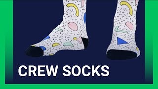 Customize Crew Socks with Your Design [Printify Product Review]
