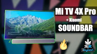 Xiaomi Mi TV 4X Pro 4k UHD 55 Inch Television With Mi Soundbar
