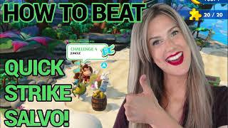 QUICK STRIKE SALVO! Jungle Challenge #4 | Donkey Kong Adventure DLC