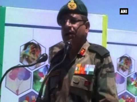 Indian Army organizes spring festival in Kashmir