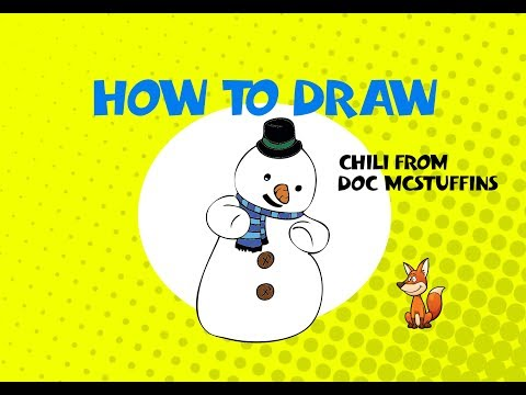 how to draw Chili from Doc Mcstuffins - STEP BY STEP GUIDE - DRAWING TUTORIAL GUIDE