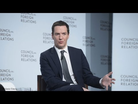 A Conversation With George Osborne