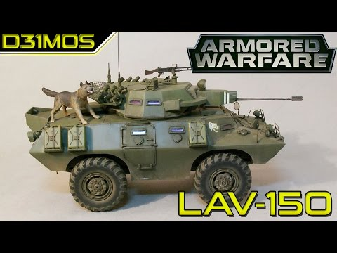 Armored Warfare! LAV-150 PT-BR Early Access