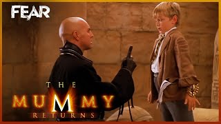 Alex Tries To Escape | The Mummy Returns